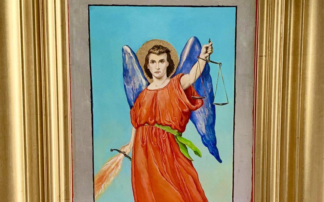 SAN MIGUEL ARCANGEL(se venera en la parroquia Ntra. Sra. del Rosario, Guadiaro, Cadiz)